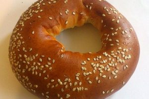 Difference between a bagel and bread
